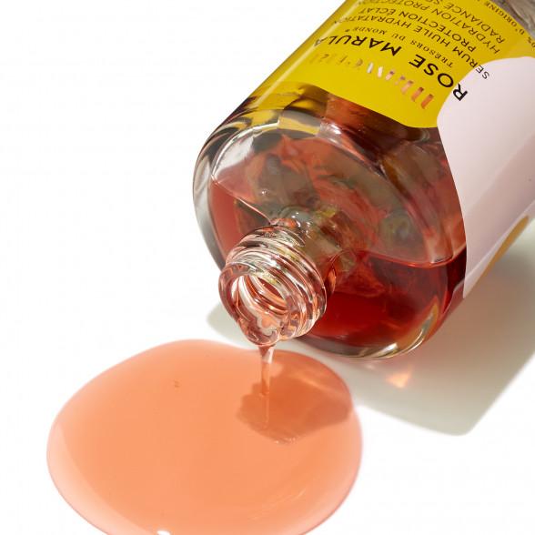 Rose Marula - Huile Sérum hydratation protection éclat