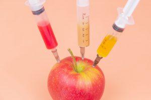 extrait ingrédient naturel, ici une pomme