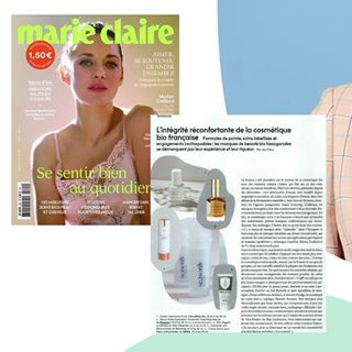 // PRESSE // 🌸⁣ .⁣ . ⁣ 🇫🇷 Formules de pointes, soins labellisés, engagements inattaquables. Ravis que Mawena fasse partie des marques de beauté bio hexagonales qui se démarquent. Merci @marieclairefr 😍 ⁣Loin d'être parfaits, on a encore beaucoup à faire. Transparence, dialogue, écoute etc... promis, on donnera toujours le meilleur.⁣ .⁣ .⁣ 🇬🇧 Pointy formulas, certified skincare treatments, unassailable commitments. Delighted that Mawena is one of the french organic beauty brands that stands out. Thanks @marieclairefr 😍 ⁣ Far from being perfect, we still have a lot to do. Transparency, dialogue, listening etc ... We will always give the best, always.⁣ .⁣ .⁣ #mawena #veganbeauty #organicskincare #greenbeauty #indiebrand #confidentbeauty #beautenaturelle #beauteengagee #ethicalbeauty #ethicallymade #cosmetiquebio #presse #marieclaire⁣